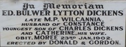 Edward Bulwer Lytton Plorn Dickens