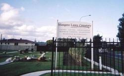 Mangere Lawn Cemetery, Mangere