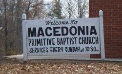 Macedonia Primitive Baptist Church Cemetery