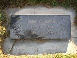 Annie C <i>Beckstrom</i> Johnson