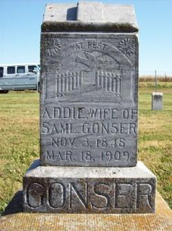 Mary Adeline Addie <i>Alexander</i> Gonser