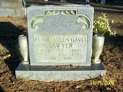 Pearl <i>Allen</i> Davis-Sawyer