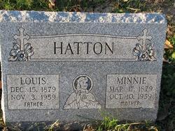 Minnie H. <i>Goebel</i> Hatton