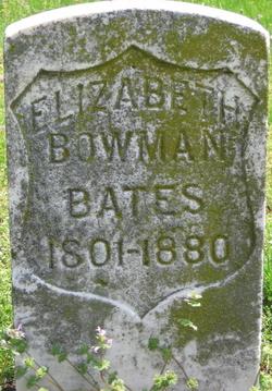 Elizabeth <i>Bowman</i> Bates