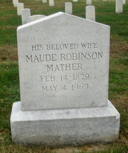 Maude <i>Robinson</i> Mather