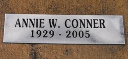 Annie W Conner