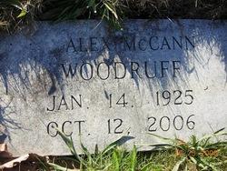 Alex McCann Woodruff
