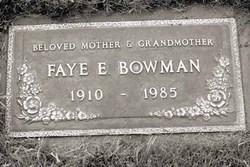 Fay Erma <i>Stevenson</i> Bowman
