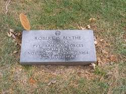 Pvt Robert S Blythe