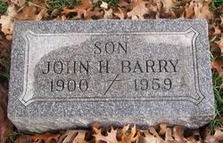 John H Barry