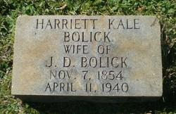 Harriett <i>Kale</i> Bolick