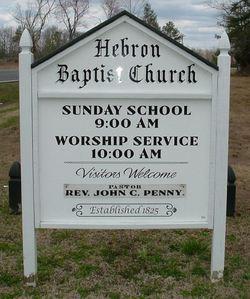Hebron Baptist Church Cemetery