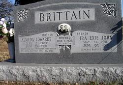 Dr Almeda <i>Edwards</i> Brittain