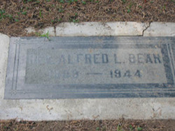 Rev Alfred L. Bear