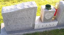 Donna K <i>Myrtle</i> Evans