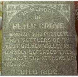 Lieut Peter Grove