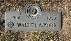 Walter Abraham York