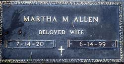 Martha Mae <i>Vindhurst</i> Allen