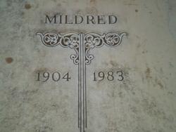 Mildred Elizabeth <i>Abarnatha</i> Tankersley