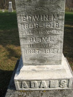 Edwin M Adams