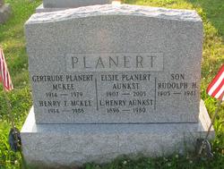 Elise <i>Planert</i> Aunkst