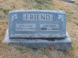 Mary Virginia <i>Allen</i> Friend