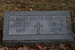 Frances <i>Walsh</i> Bergdoll