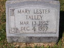 Mary Lester Talley