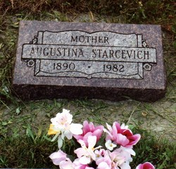 Augustina <i>Cuculich</i> Starcevich