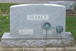 Leota B. <i>McCoy</i> Berkey
