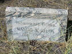 Manley W Allen