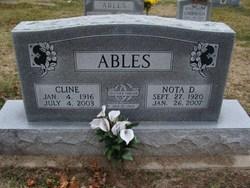Willard Cline Ables