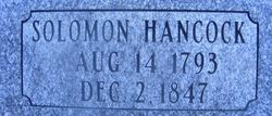 Solomon Hancock