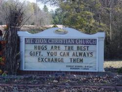 Mount Zion Christian Church Cemetery