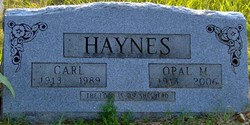Opal <i>Brown</i> Haynes