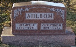 Helmer J Ahlbom