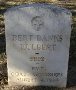 Bert Banks Hulbert