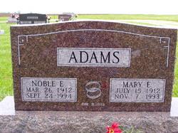 Mary Elizabeth <i>Jordan</i> Adams