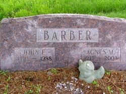 Agnes Marie <i>Rutledge</i> Barber