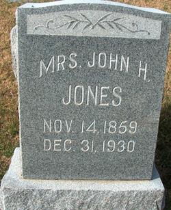M. C. Jones