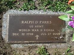 Ralph D. Parks