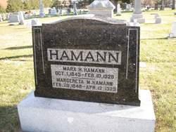 Marx H Hamann