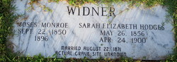 Moses Monroe Widner