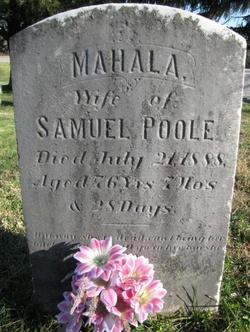 Mahala <i>Lease</i> Poole