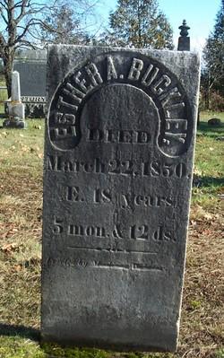 Esther A. Buckley