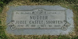 Juell Castle <i>Shorten</i> Nutter
