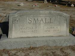 Martha Frances <i>Hammond</i> Small