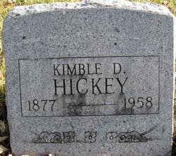 Kimble D Hickey