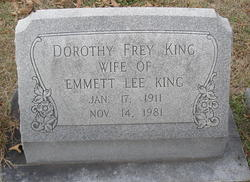 Dorothy <i>Frey</i> King