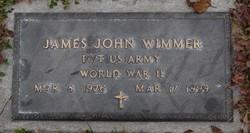 Pvt James John Joseph Wimmer